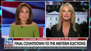 Kellyanne Conway attributes economic gains to Trump