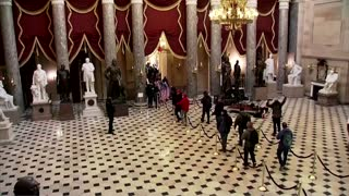 Lawmakers evacuated as protesters storm U.S. Capitol