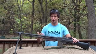 Browning BAR M1918 A2 Full Auto - Video