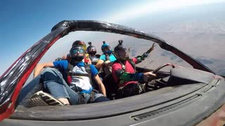 Skydiving in a Car - Video