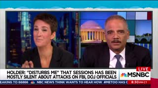 Former AG Eric Holder Claims 'Any One of My Kids Would Make a Better President than Donald Trump' - Video