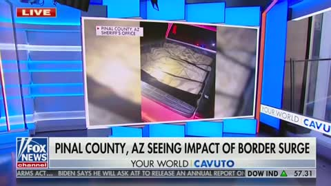 Sheriff Describes 'Staggering' Number Of Migrants Crossing The Border