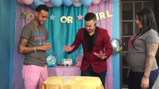 Magician Gender Reveal - Video