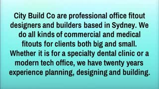 Dental Clinic Office Fitouts - Video