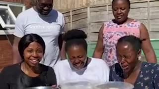 Unique Dunking Game Has Family Belly-Laughing