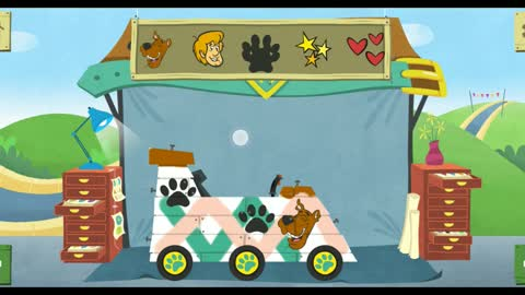 Make and race with famous cartoon characters : The dog is super crazy