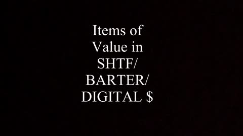 Items Of Value