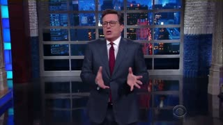 Wayne Dupree Attacks Stephen Colbert For Using Nasty Language Against President Trump - Video