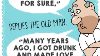 The old man & the punk, Aunty Acids Daily Chuckle. - Video