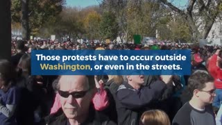 Sen Dick Blumenthal calls for protests in the streets #News