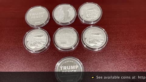 My DISME Trump Coins Unboxing -- 99.99% pure investment grade silver