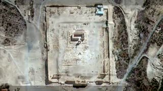 U.N. confirms images show Palmyra temple destruction - Video