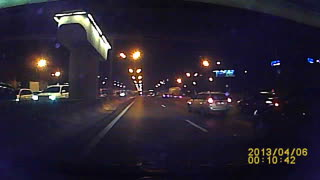 Nighttime Roll-Over in Russia
