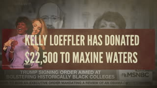 KELLY LOEFFLER ENDORSES MAXINE WATERS!