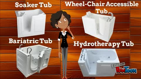 Types of Walk in Bathtub