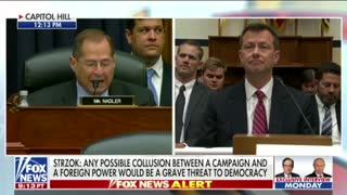 Comey directed Strzok to focus on the Russian probe over Hillary investigation - Video