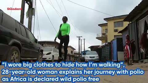 I wore big clothes to hide how Im walking, 28-year-old woman explains her journey with polio