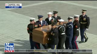Coverage of Billy Graham Service at Capitol Hill