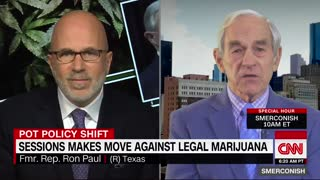 Ron Paul calls on Jeff Sessions to resign over marijuana decision - Video