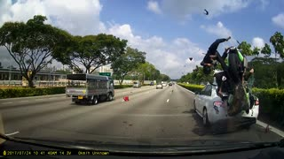 Intense Bike Accident - Video