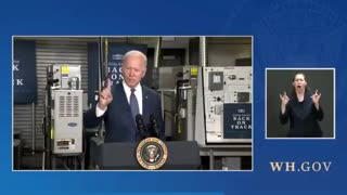 Biden MALFUNCTIONS and Makes a Huge Gaffe About Taxes