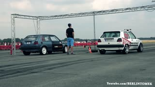Drag Races in Germany - Video