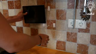 How to make an iPad or tablet stand in only minutes! - Video