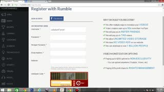 How To - Create Acount On Rumble And Earn 50x More Money  Than Youtube - Video