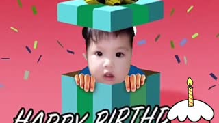 Funny Happy birthday  - Video