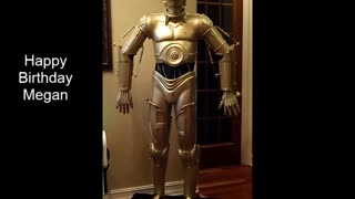 C3PO - Happy Birthday Greeting