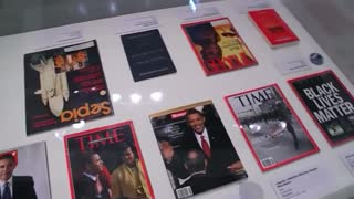 Paris art exhibition illustrates racism in USA - Video