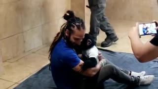Man Saves Young Chimpanzee From Captivity