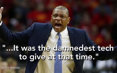 Doc Rivers EJECTED For Having Meltdown