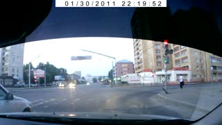 Reckless Porsche Causes Crashes Into Oncoming Traffic - Video