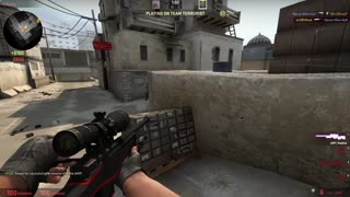 Counterstrike:Global Offensive Competitive Sniper Kills [TEST] - Video