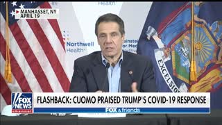 The double standard of Governor Cuomo on Trump and COVID-19