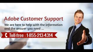 Contact Adobe Customer Support Number 1-855-213-4314 - Video