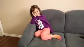 3yrs old toddler dies laughing over her own fart - Video