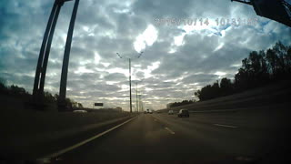 Russian Highway Crash - Video
