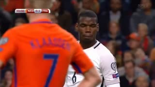 Paul Pogba scores absolute screamer vs Netherlands!! What a GOAL!! - Video