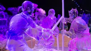 Star Wars: The Force Awakens | Ice Sculptures - Video