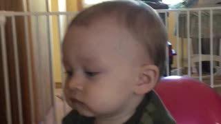 He wants all of the BOOKS! Adorable. - Video