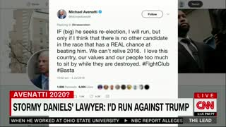 Avenatti opens door to challenging Trump in 2020 - Video