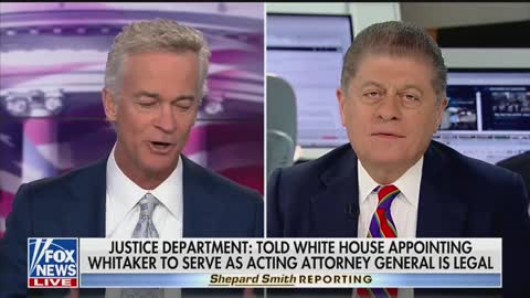 """Napolitano -Matthew Whitaker Is """"Legally Ineligible"""" To Be Acting AG"""