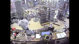 Comic Bookstore Crash - Video
