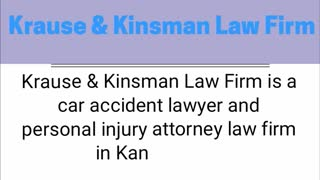 car accident attorney kansas city - Video
