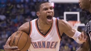Russell Westbrook Swats Ball Into Parallel Universe - Video