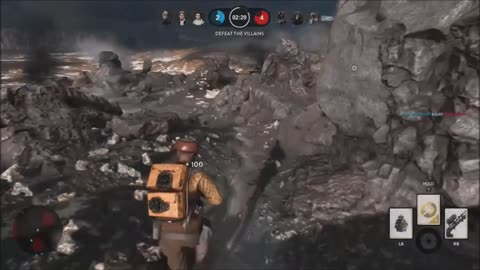 Star Wars Battlefront: Heroes vs Villains game mode