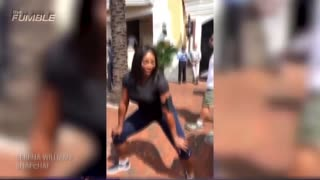Serena Williams Gives A Twerk Lesson - Video