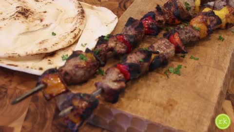 Easy DIY beef kebab recipe